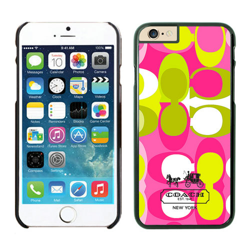 Coach In Signature Multicolor iPhone 6 Cases EYH