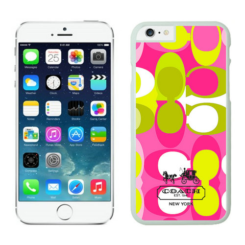 Coach In Signature Multicolor iPhone 6 Cases EYI