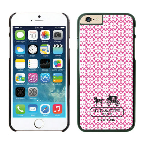 Coach In Confetti Signature Pink iPhone 6 Cases EYN