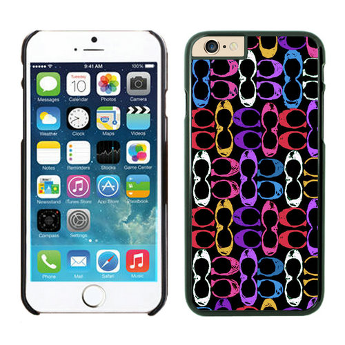 Coach Logo Monogram Multicolor iPhone 6 Cases EZB