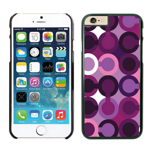 Coach Fashion C Purple iPhone 6 Cases EZH