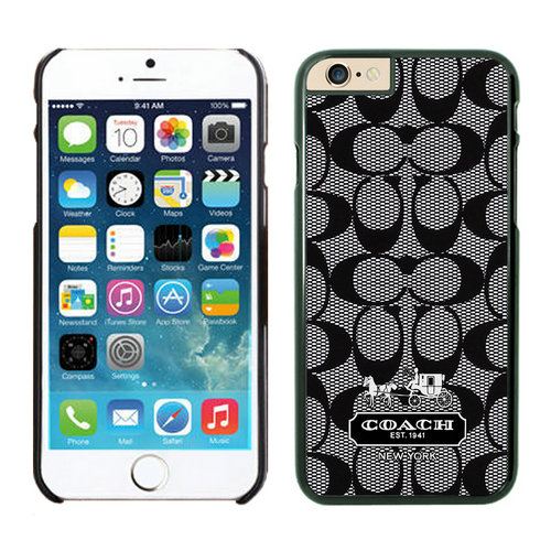 Coach Big Logo Grey iPhone 6 Cases FAD