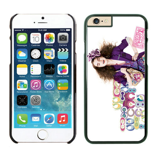 Coach People Logo Multicolor iPhone 6 Cases FAN
