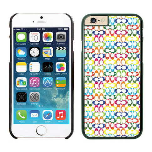 Coach Logo Multicolor iPhone 6 Cases FAZ