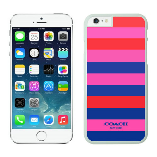 Coach Stripe Multicolor iPhone 6 Cases FBE