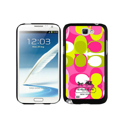 Coach In Signature Multicolor Samsung Note 2 Cases DTI