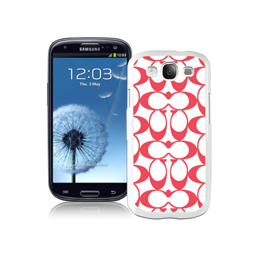 Coach Big Logo Red Samsung Galaxy S3 9300 CAP