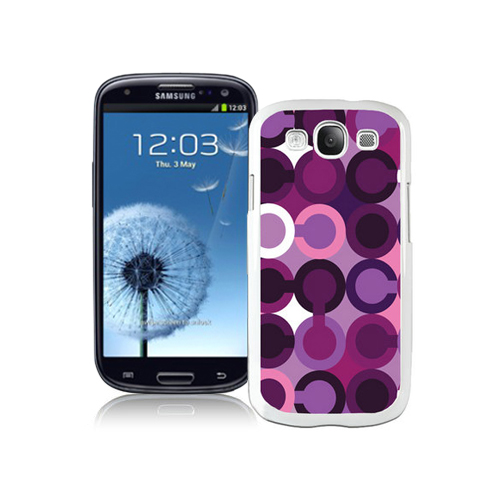 Coach Fashion C Purple Samsung Galaxy S3 9300 CAU