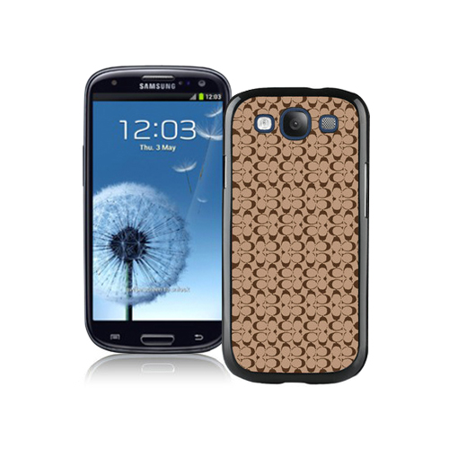 Coach Logo In Signature Camel Samsung Galaxy S3 9300 CBG