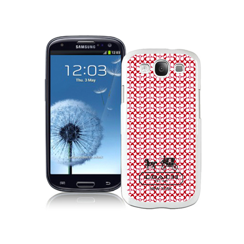 Coach In Confetti Signature Red Samsung Galaxy S3 9300 BGI