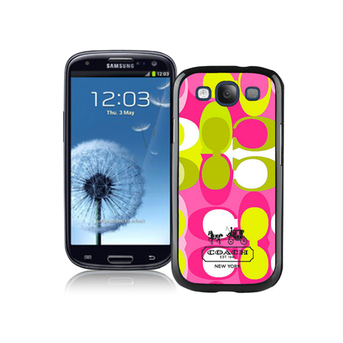 Coach In Signature Multicolor Samsung Galaxy S3 9300 BGU