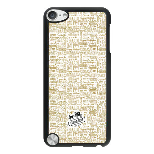 Coach Fashion Logo Khaki iPod Touch 5TH AUO