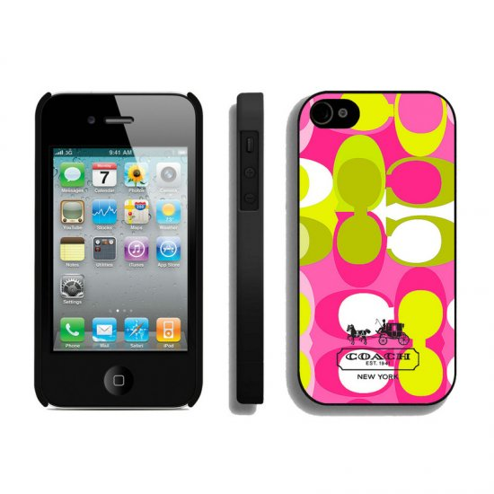 Coach In Signature Multicolor iPhone 4 4S Cases AIO