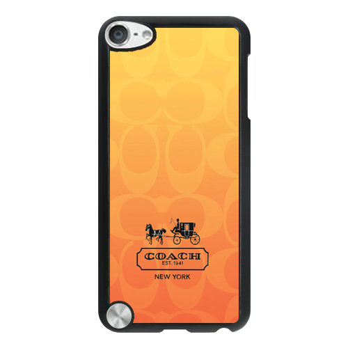 Coach In Signature Orange iPod Touch 5TH AJG