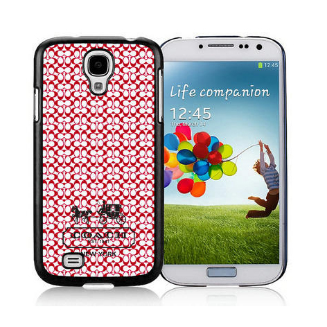 Coach In Confetti Signature Red Samsung Galaxy S4 9500 AJW