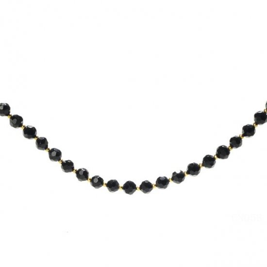 Coach Bead Black Necklaces CZZ