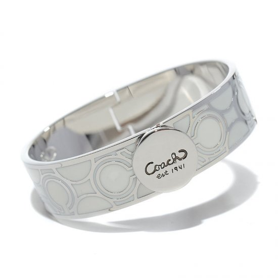 Coach Linked Signature C White Bracelets AKT