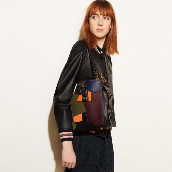 ROGUEbag in patchwork leather