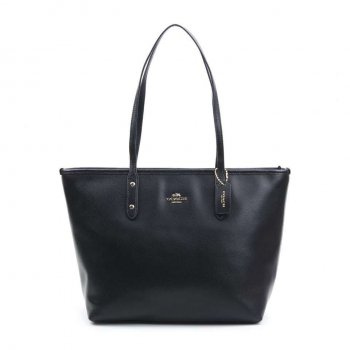 SOPHIA TOTE IN PEBBLE LEATHER