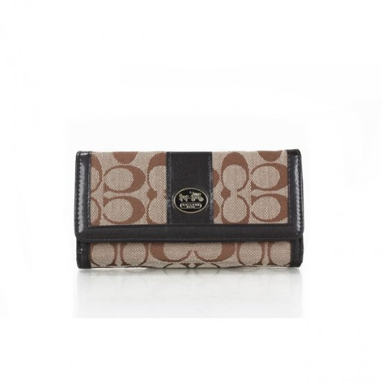 Coach Envelope in Signature Small Apricot Wallets FFE