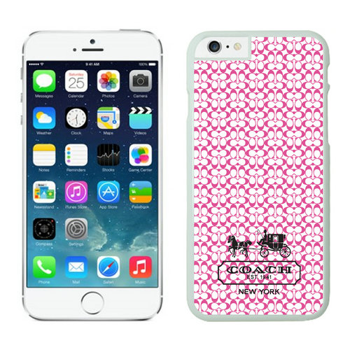Coach In Confetti Signature Pink iPhone 6 Cases EYO
