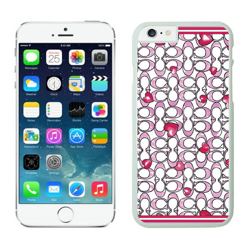 Coach Love Logo Pink iPhone 6 Cases EZK