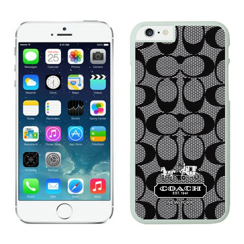 Coach Big Logo Grey iPhone 6 Cases FAE
