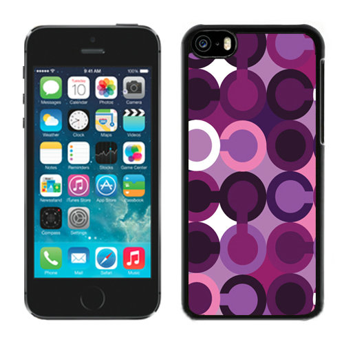 Coach Fashion C Purple iPhone 5C Cases DQT