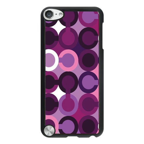 Coach Fashion C Purple iPod Touch 5TH CAJ