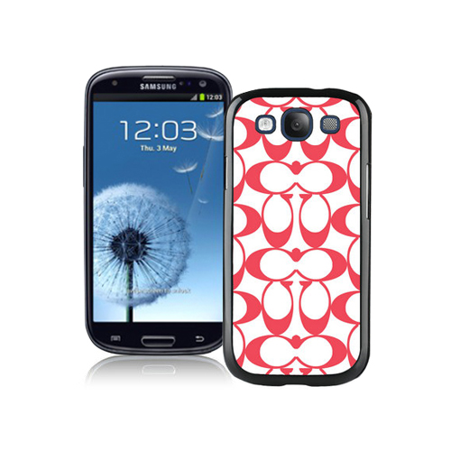 Coach Big Logo Red Samsung Galaxy S3 9300 CBA