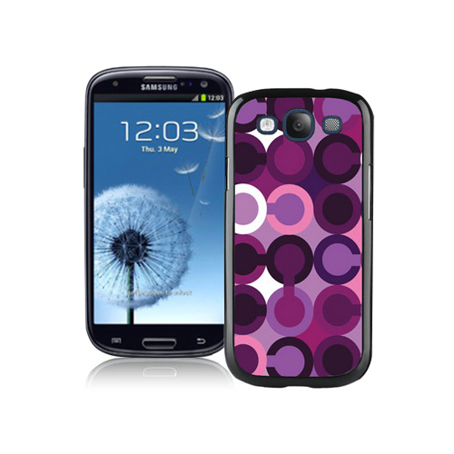 Coach Fashion C Purple Samsung Galaxy S3 9300 CBF