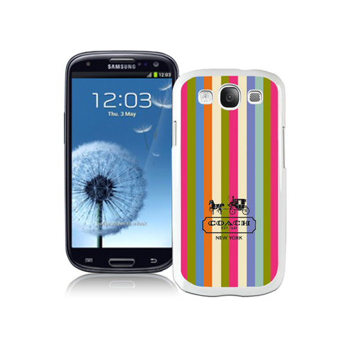 Coach Stripe Multicolor Samsung Galaxy S3 9300 BGB