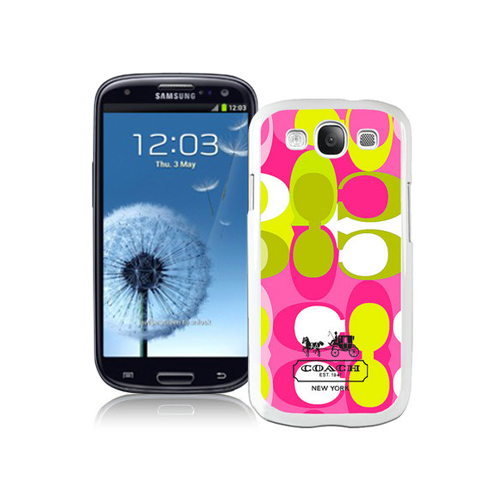 Coach In Signature Multicolor Samsung Galaxy S3 9300 BGE