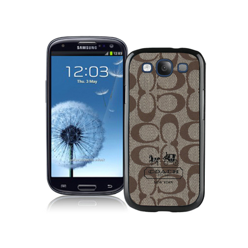 Coach In Signature Beige Samsung Galaxy S3 9300 BGT
