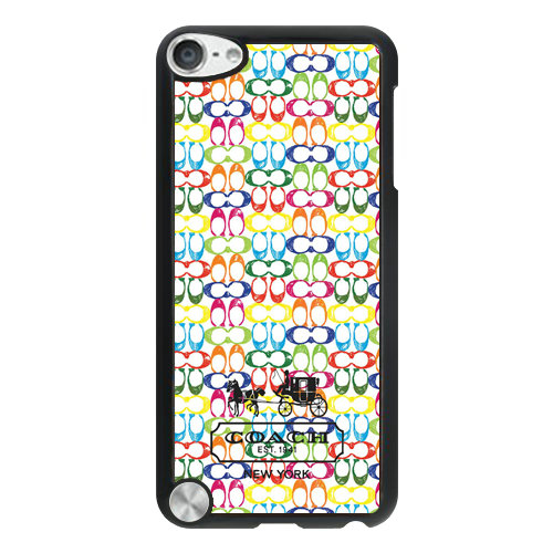 Coach Logo Multicolor iPod Touch 5TH AUQ