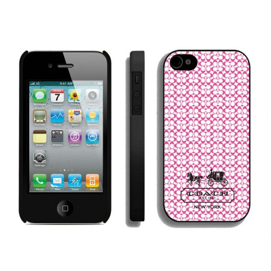 Coach In Confetti Signature Pink iPhone 4 4S Cases AIQ