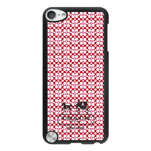 Coach In Confetti Signature Red iPod Touch 5TH AJM