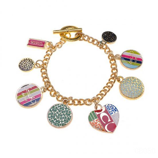Coach Love Gold Bracelets CXB